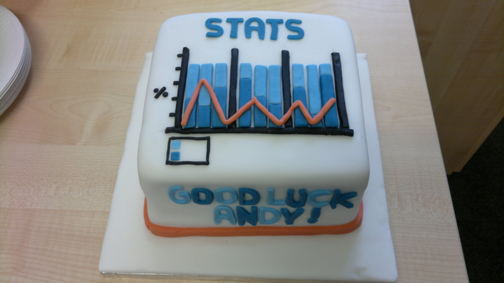 My amazing farewell cake from my colleagues at Oxford.