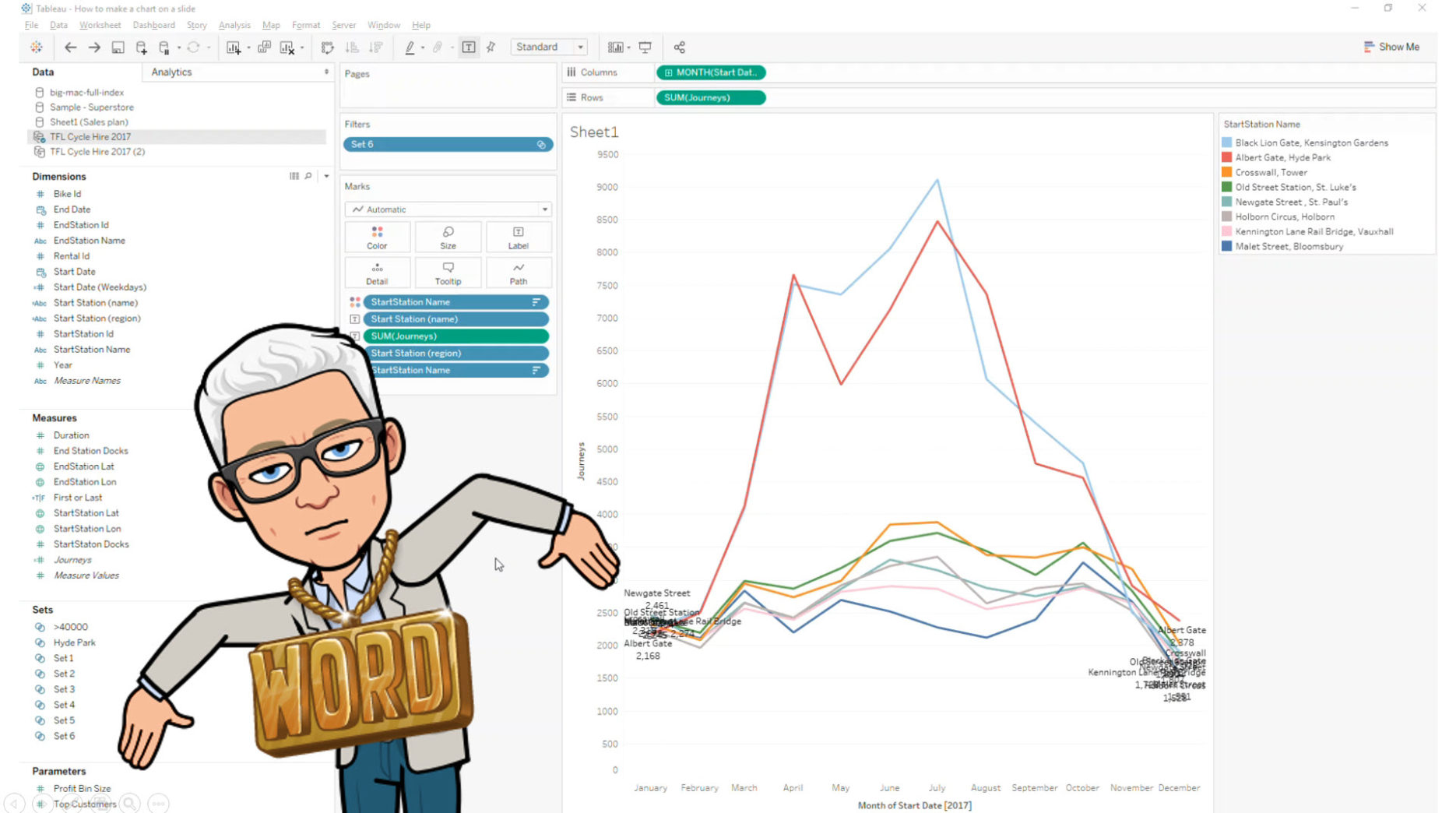 How to use Tableau in a presentation - GravyAnecdote